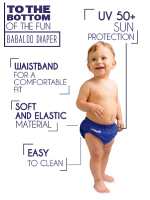 Cressi Baby Babaloo Reusable Swim Diapers