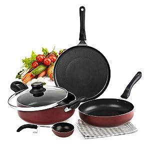 induction cookware, nonstick aluminium cookware