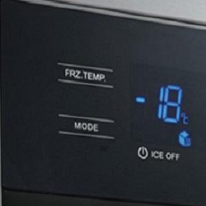 Electronic Control With LED Display,Midea Freezer , Midea Upright Freezer , Midea Fridge