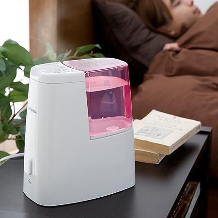 寝室で使うスチーム式加湿器