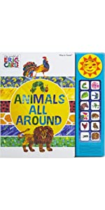 World of Eric Carle - Animals All Around Sound Book