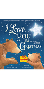 Love, gifts, parents and child, heart warming, Tim Warnes, family, bears, Christmas