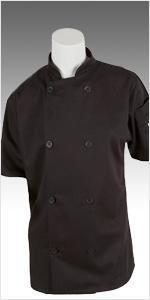 womens cook jacket short sleeve