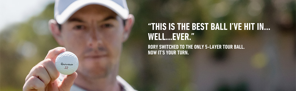 Rory McIlroy plays TP5x