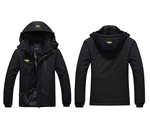 87413dce4f1 Amazon.com  Wantdo Men s Mountain Waterproof Ski Jacket Windproof ...