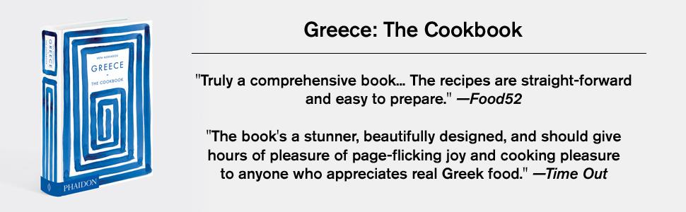 greece the cookbook, phaidon, greece, greek cuisine, vefa's kitchen