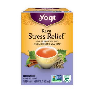 Yogi Tea, Herbal Kava Stress Relief, 16 Count