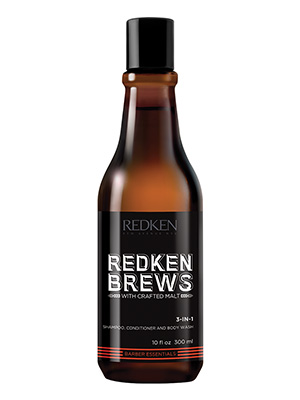 Redken Brews 3-in-1 Shampoo, Mens haircare