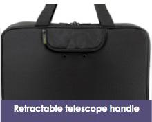 Retractable telescope handle