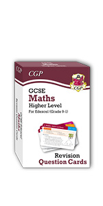 Grade 9-1 GCSE Edexcel Maths Revision Question Cards from CGP