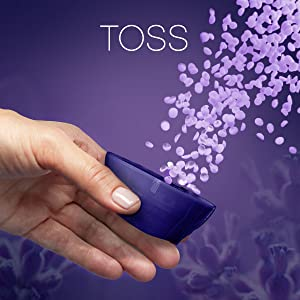 toss, downy infusions scent booster beads, downy beads, fabric softener, washing machine, washer