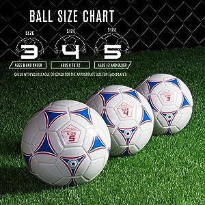 Amazon com gosports premier soccer ball with premium pump