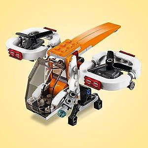 109 Piece LEGO Creator 3in1 Drone Explorer 31071 Building Kit 6208591