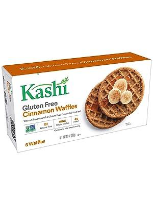 kashi frozen waffles cinnamon box