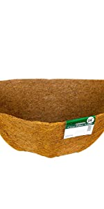 Bosmere 36 Pre-Formed Replacement Coco Liner with Soil Moist for Window Basket
