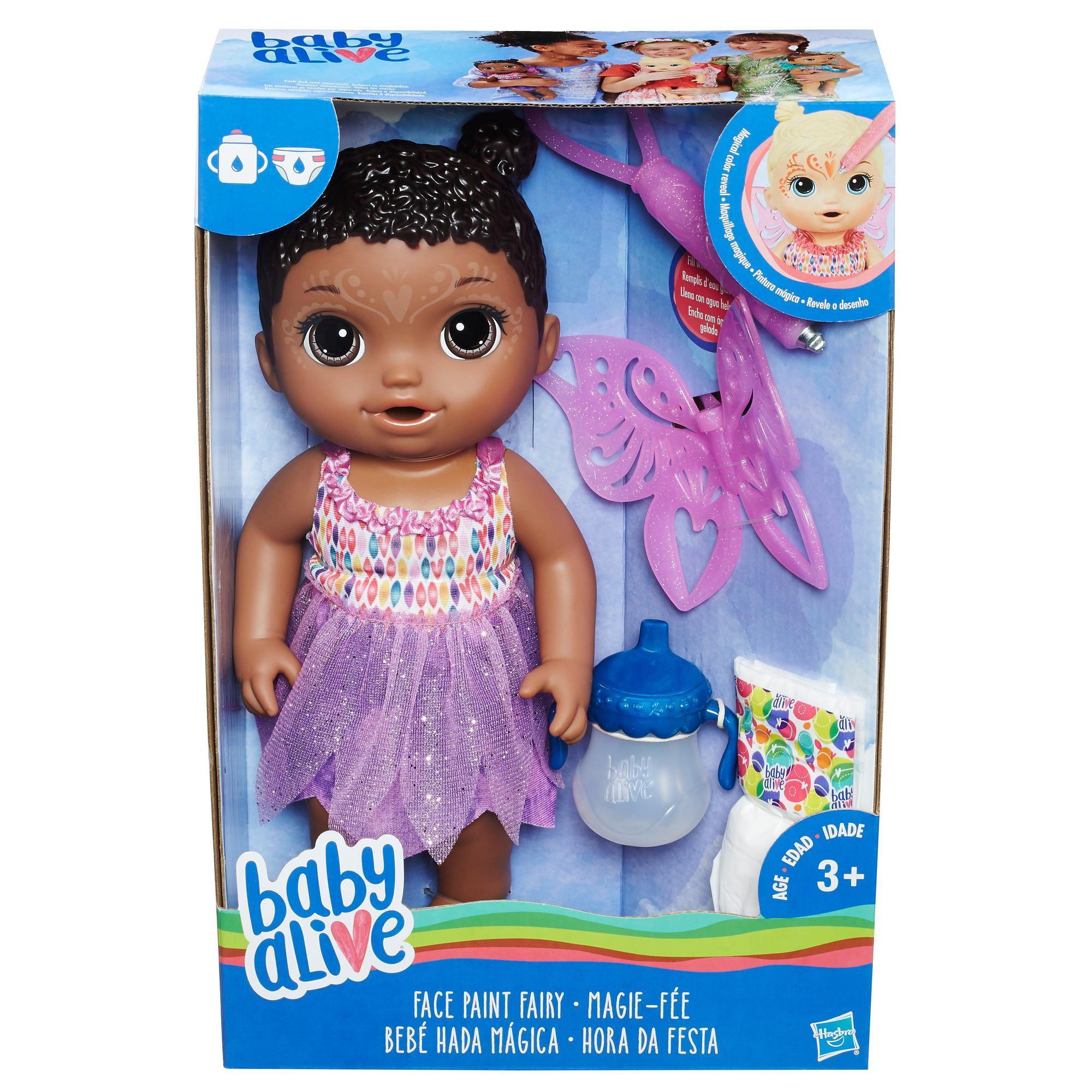 Buy Baby Alive Face Paint Fairy Baby Doll Blonde Toy