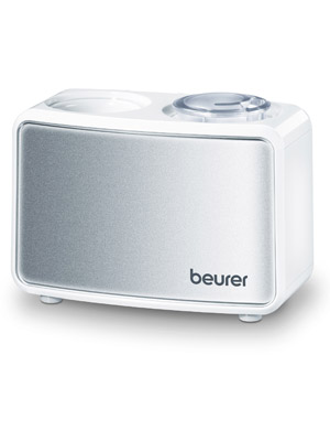 Beurer 680.06 Mini Air Humidifier | Ultrasonic humidification Technology |  Quiet Operation | Ideal for The Office or When Travelling | Continuously  Adjustable | Suitable for Rooms up to 20m², Plastic: Amazon.co.uk: Kitchen  & Home