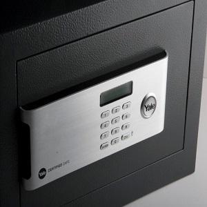 Yale YSM//520//EG1 Coffre-Fort Haute S/écurit/é /à Serrure Electronique 100 000 combinaisons, A Poser et Sceller 49,8L Anthracite Certifi/é SKG Format Professionnel 52 x 35 x 36 cm