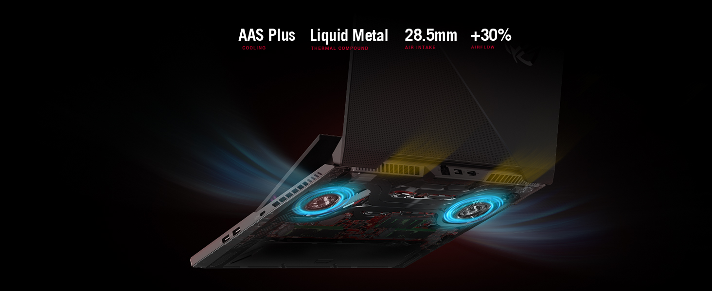 Improved Cooling with Liquid Metal