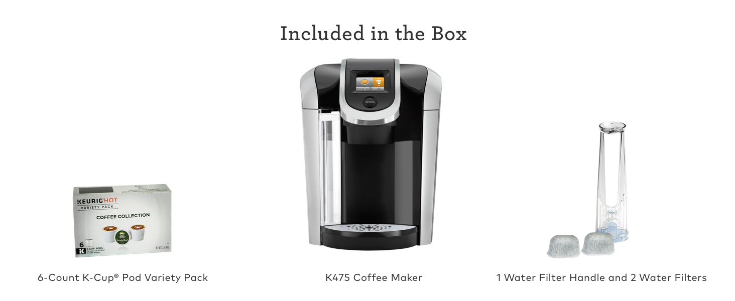 Keurig K475 Coffee Maker, Keurig K475 Brewer, Keurig K475, K475, K475 brewer, K475 coffee maker