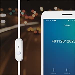 Handsfree Call & Crystal Clear Mic