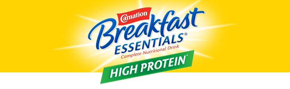 Carnation Breakfast Essentials High Protein