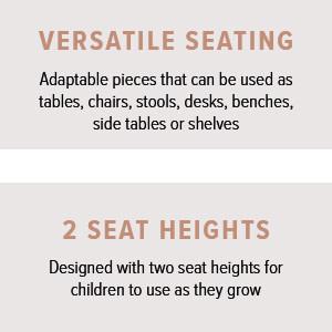 Versatile Seating