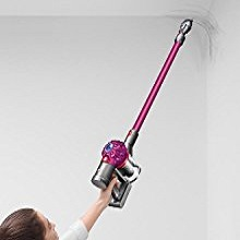 Transforms to clean ceilings, vacuum, Dyson