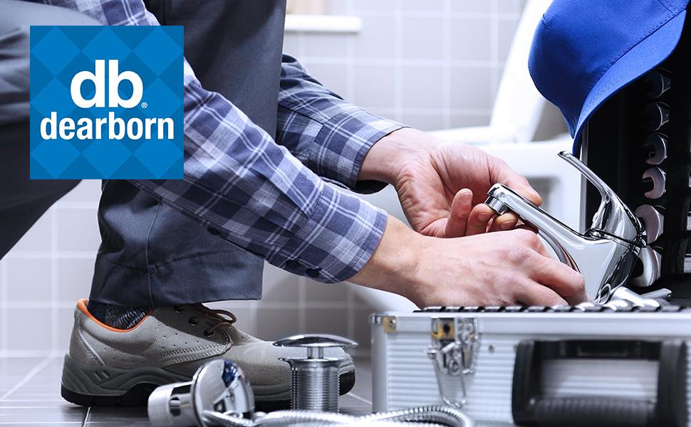 dearborn brass plastic metal tubular commercial bath waste overflow basket strainer sink grab bar