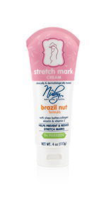 Nuby Brazil Nut Stretch Mark Cream 4 Oz ...
