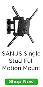 Amazon Com Sanus Full Motion Tv Wall Mount For 37 Quot To 80