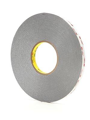 1 in x 36 yd Gray 62 mil 3M VHB Tape 4956F Case of 9 00021200243745