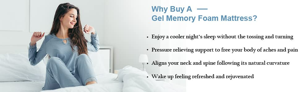 Why Buy a Gel Memory Foam Mattress