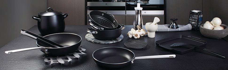 Alessi SG100S7 Pcs Mami 7 Piece Kitchen Set Silver