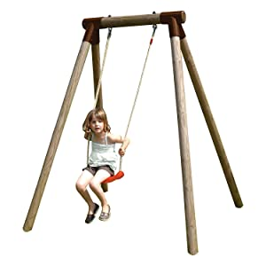 New plast al1341 altalena singola in legno violetta giochi e giocattoli - Altalena da giardino amazon ...