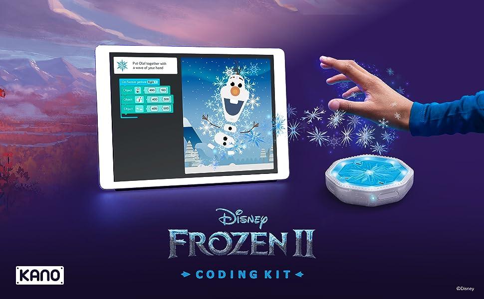 Kano 迪士尼《冰雪奇缘2》儿童STEM编程玩具 3.7折$29.99史低 海淘转运到手约¥241