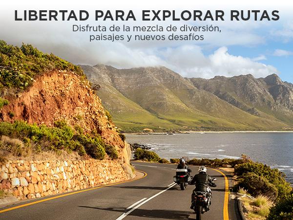 TomTom Rider 50 - GPS para motocicletas (4,3 pulgadas con ...