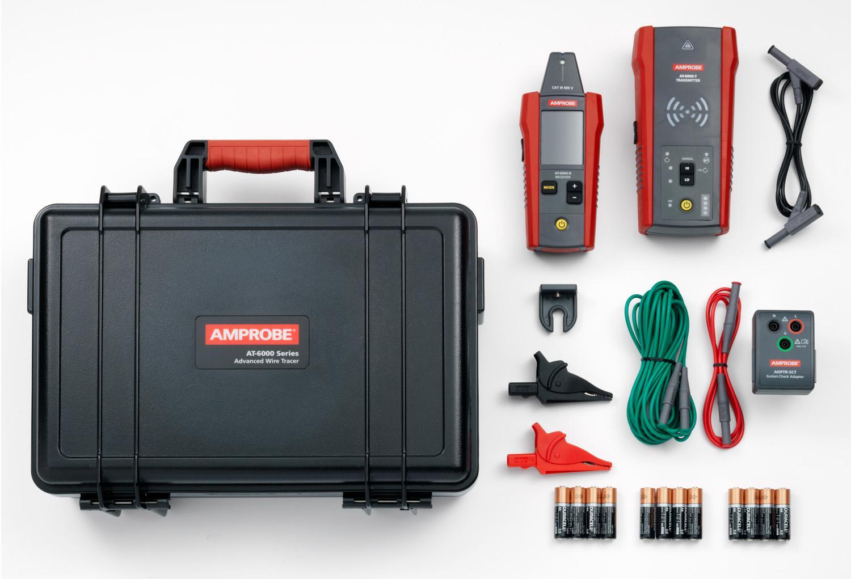 Amazon.com: Amprobe AT-6020 Advanced Wire Tracer with 8 Sensitivity ...