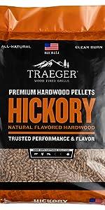hardwood pellets smoke hickory