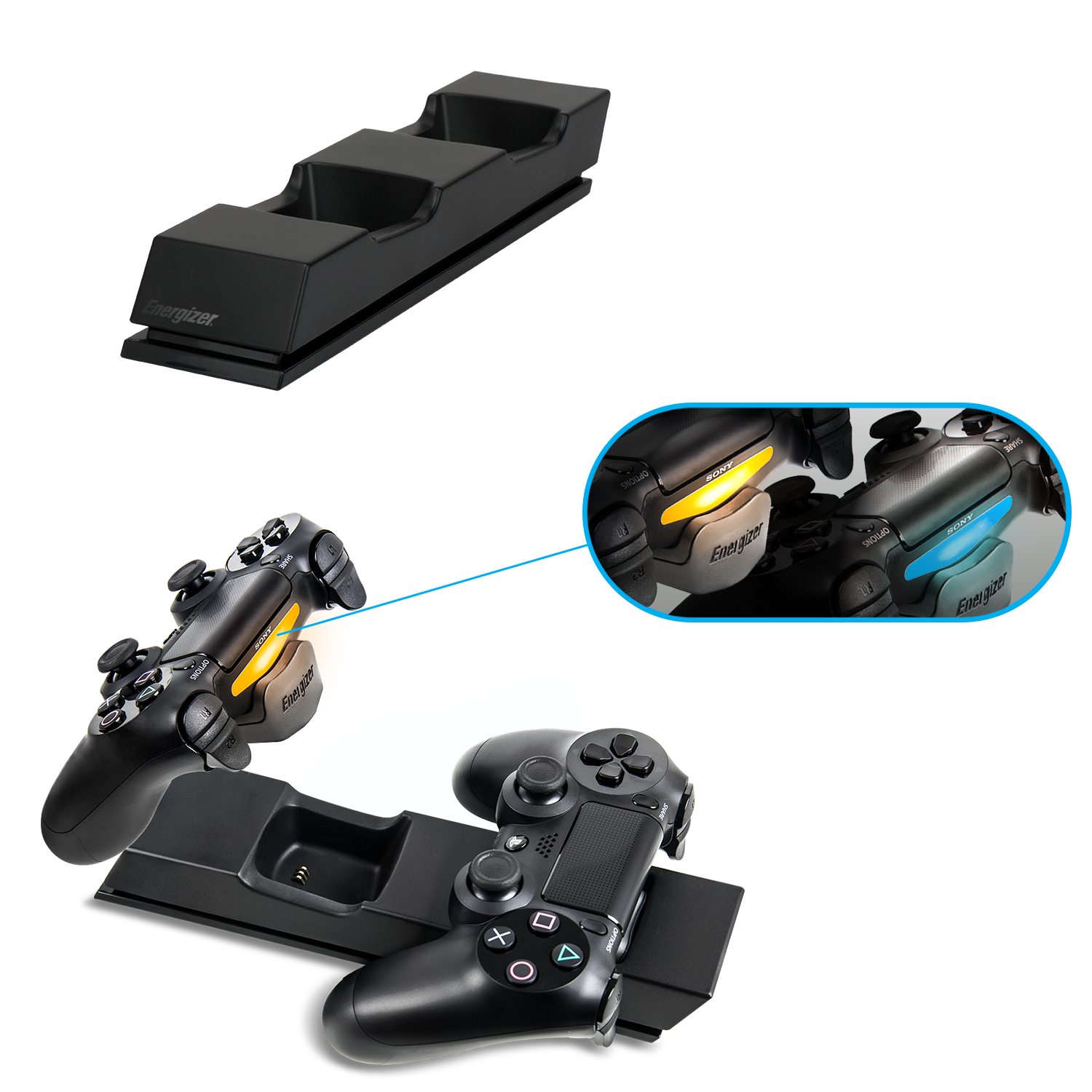energizer xbox one charger instructions