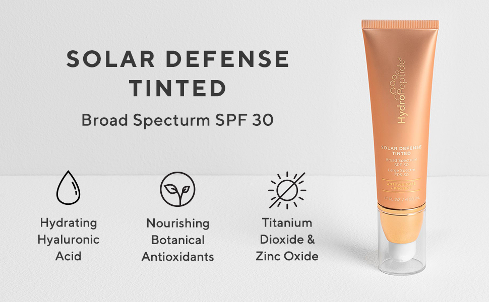 Hydropeptide Solar Defense Tinted