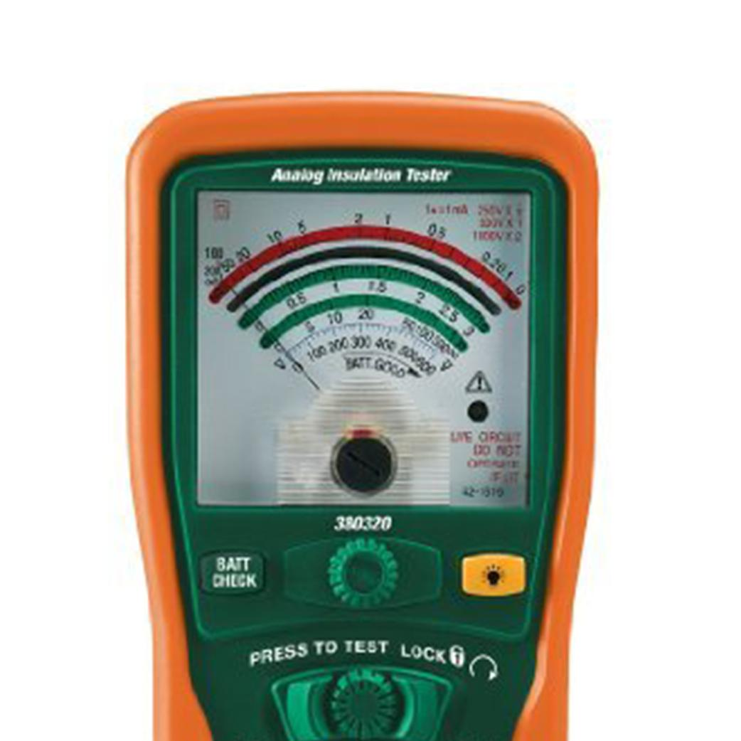 Extech 380320 Analog Insulation Tester Voltage Testers Constant 5kv View Larger