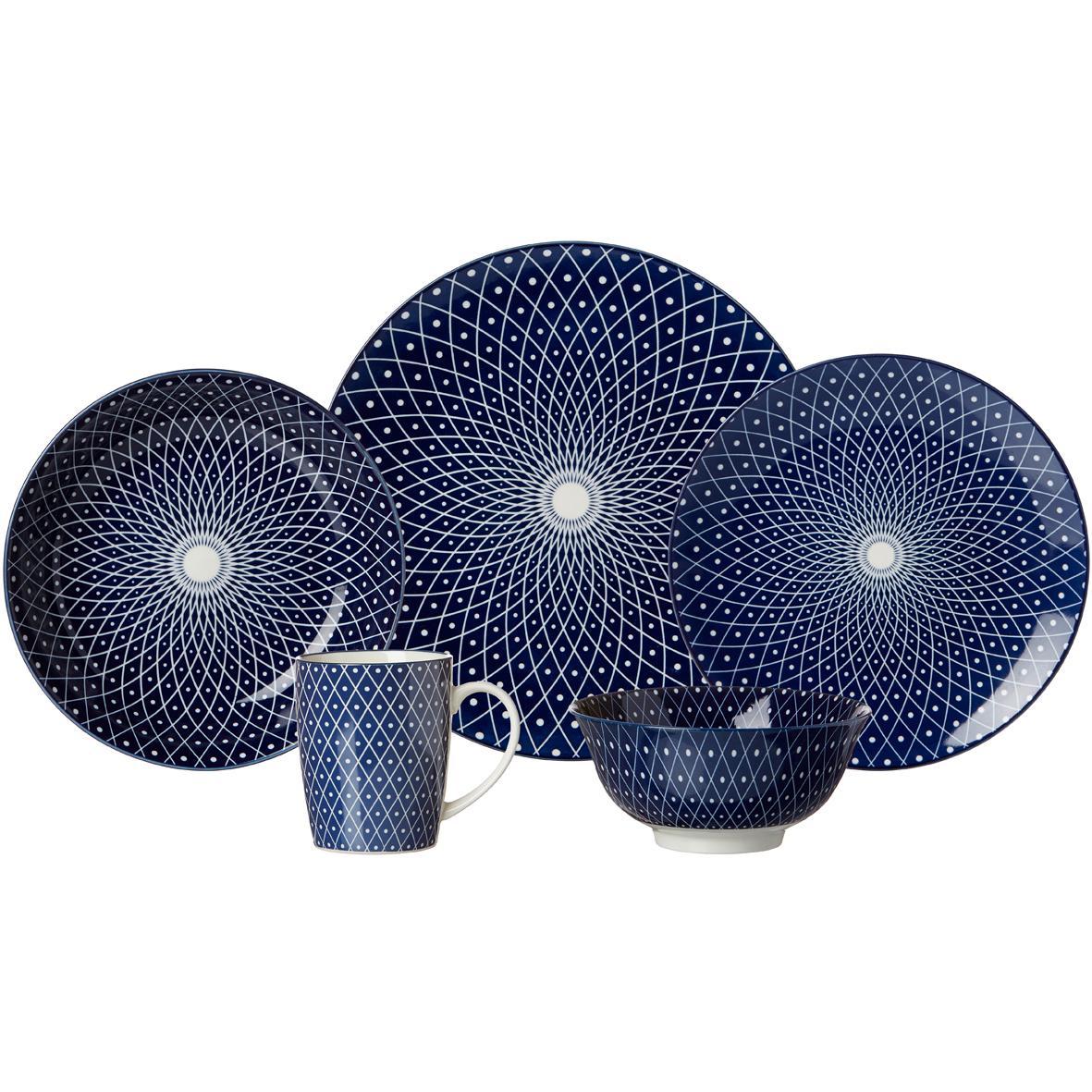ritzenhoff breker speiseteller set royal reiko 4 teilig 26 5 cm durchmesser. Black Bedroom Furniture Sets. Home Design Ideas