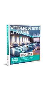 Week-end détente et volupté coffret box cadeau Smartbox