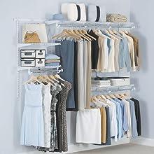 Closet Configuration Kit Shelving Closet
