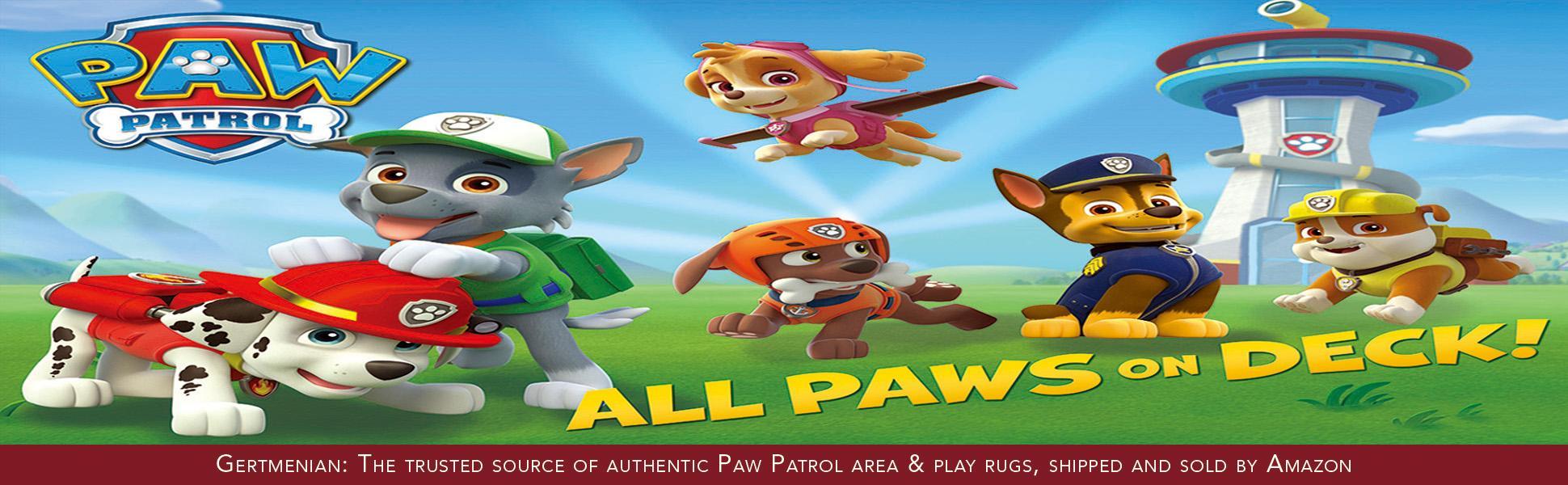 Amazon Com Gertmenian Paw Patrol Adventure Bay Hd Kids