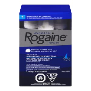 Rogaine Mens 5% Foam