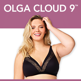 bcf195af8cac7 Olga Cloud 9 Wire Free Triangle Bra Bra at Amazon Women s Clothing ...