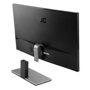 AOC i2367Fh 23-Inch IPS Frameless LED-Lit Monitor, Full HD 1080p, 5ms, 50M:1 DCR, VGA/ HDMI, Speaker