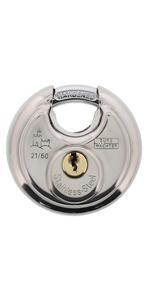 Burg-W/ächter Gamma 700 55 SB Candado Di/ámetro Arco 9 mm
